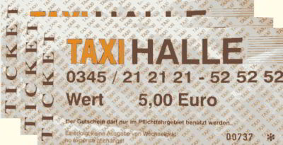 Taxitickets